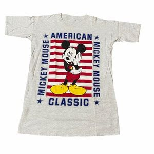 Mickey Mouse American T-shirt Dress/Nightgown